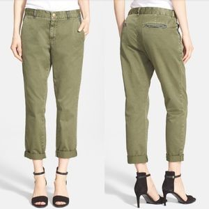 Current/Elliott Buddy Trouser Chino Pant Army 25